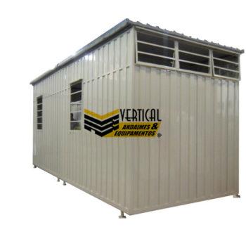 Container Desmontável e Modular NR18 Linha Home
