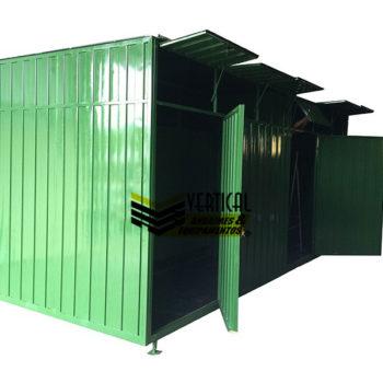 Container Desmontável Sanitário Coletivo NR18